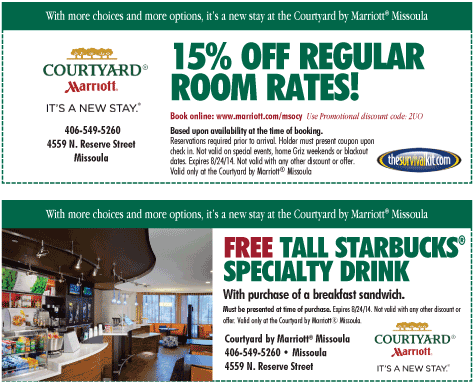 Coupons marriott courtyard : Printable coupons for magic house
