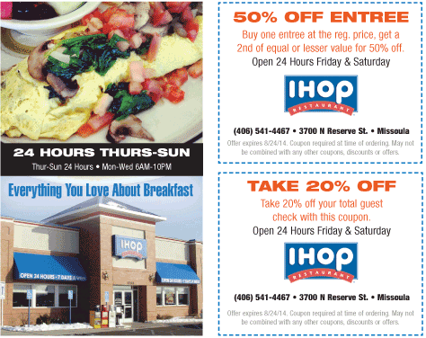 photograph regarding Ihop Printable Coupons named Ihop coupon codes may possibly 2018 : Moddeals discount codes december 2018