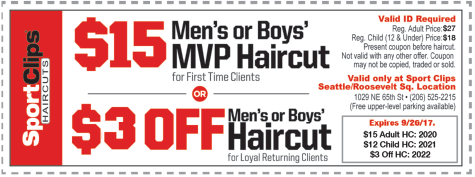 Get 12 Sport Clips coupon codes and promo codes at CouponBirds. Click to enjoy the latest deals and coupons of Sport Clips and save up to $5 when making purchase at checkout. Shop 360peqilubufebor.cf and enjoy your savings of December, now!4/5(12).